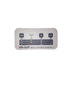Davey Spa-Quip 2095 Series 3 way Overlay for Spa Controller