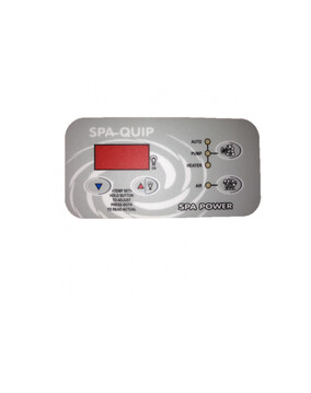 Davey Spa-Quip SP400/600/601 Rectangular Overlay for Spa Controller