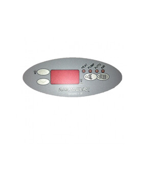 Davey Spa-Quip SP600/601 Oval Overlay for Spa Controller