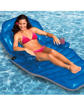 Poolmaster Adjustable Chaise Lounger - Swimming Pool Inflatable Bed - 203cm