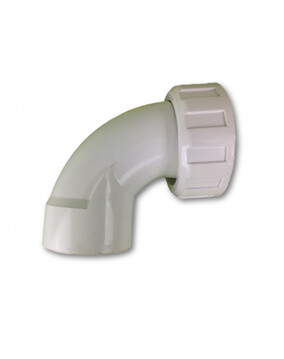 50mm Sweep Elbow With Pump Union (Spa Plumbing Part)
