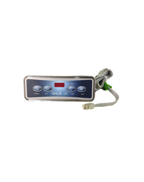 Balboa VL401 Touch Pad and 4 Button Decal for Spa Controller