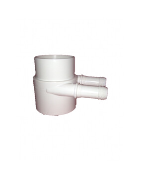 Water Manifold 2 Port 50mm (Spa Plumbing Part)