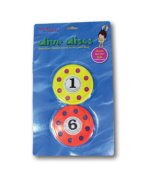 Swimsportz Dive Discs - Swimming Pool Game / Toy