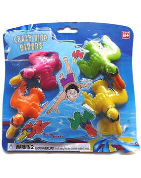 Swimsportz Crazy Bird Divers - Swimming Pool Game / Toy