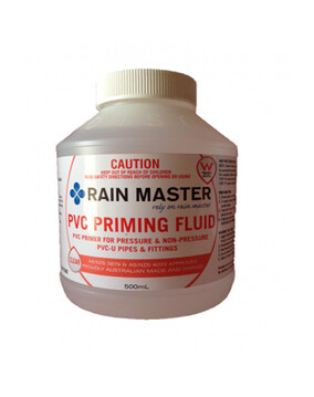 PVC Priming Fluid Clear (Spa Plumbing Part)