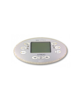 Davey Spa-Quip SP800 Oval Touch Pad and Overlay for Spa Controller