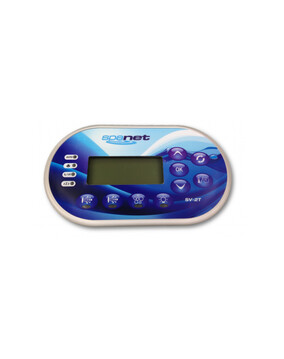 SpaNET SV2 Low Profile Gel Filled Touchpad for Spa Controller