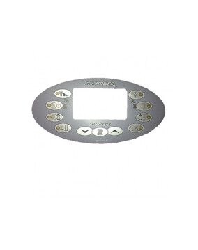 Davey Spa-Quip SP1200 Oval Overlay for Spa Controller