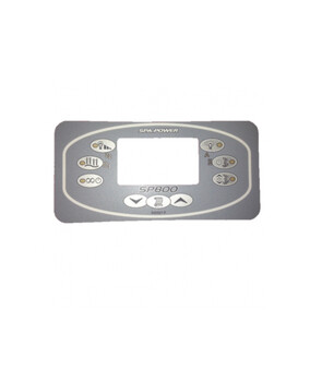 Davey Spa-Quip SP800 Rectangular Overlay for Spa Controller
