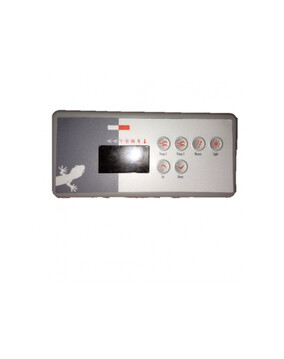 Gecko TSC-35 / K-35 Touch Pad With Overlay 6 Button for Spa Controller