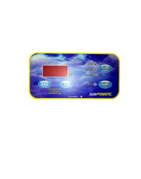 Davey Xcelsior Touch Pad Overlay for Spa Controller