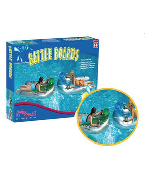 2x Swimsportz Battleboard Squirter (set of 2) Swimming Pool Toy / Float / Ride On
