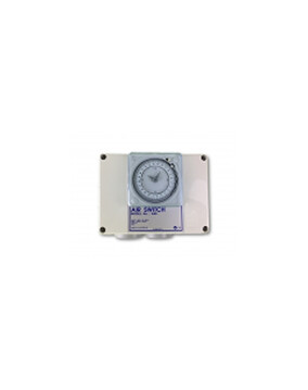 Air Switch Control With Time Clock 2 Outlet 10amp - Spa Spare Part