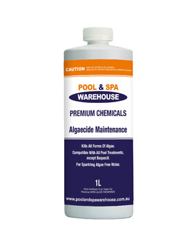Premium Algaecide 1L - Controls Algae Growth - Pool Chemical