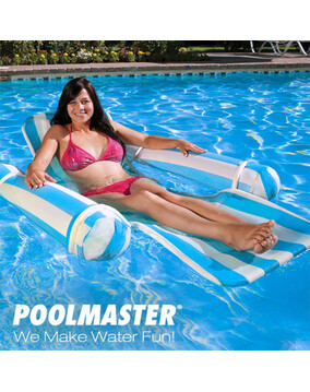 Poolmaster Aqua Drifter Luxury Swimming Pool Chaise Lounge