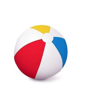 Aquafun 60cm Matt Beach Ball - Swimming Pool Toy