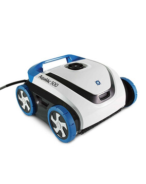Hayward AquaVac 500 Robotic Pool Cleaner w/Caddy, Timer & Swivel. Floor, Wall, Waterline