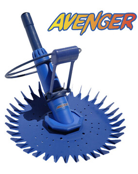 Avenger Pool Cleaner. Above & In Ground - Wall Climber