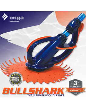BullShark Pool Cleaner by Onga Europe - Above & In Ground - Wall Climber