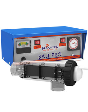 Salt Pro 30T Salt Water Pool Chlorinator w/Timer Made by Compu Pool - 5Y Warranty