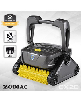 Zodiac CX20 Robotic Pool Cleaner. Floor, Wall, Waterline.