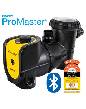 Davey ProMaster VSD200 Energy Efficient Pool Pump 8 Star Rated with Bluetooth