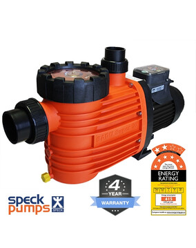 Speck Eco Pro Energy Efficient Pool Pump - 4Y Warranty, 8 Star Rated