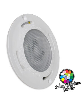 Aquaquip Evo2 LED Multi-Colour Flush Mounted Retro-Fit underwater Pool Light