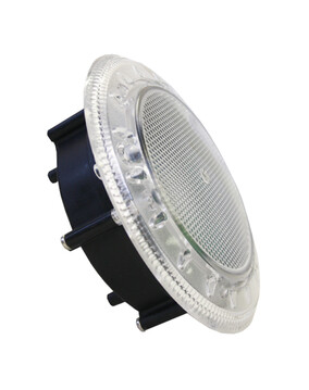 Spa Electrics WN9C/WN950 White LED Clear Rim Niche Mount (20m Cable) Pool Light