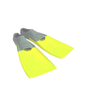 Zoggs Long Blade Rubber Fins US 5-6
