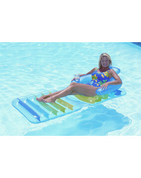 Aquafun Folding Lounge / Chair - Swimming Pool Inflatable Bed - 188cm