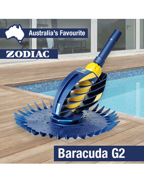 Zodiac G2 Baracuda Pool Cleaner - Series II, 12m Twist Lock Hoses