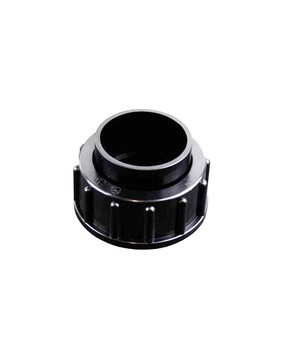 Waterco Multiport Valve Half Union Black c/w O Ring 40mm  122243B