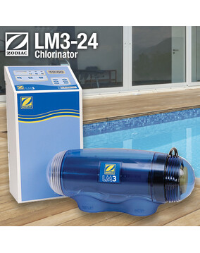 Zodiac LM3 24 Salt Water Chlorinator - Self Cleaning, Latest Model (LM3-24)