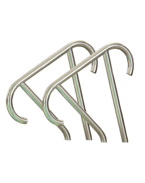 S.R. Smith Meridian Hand Rail Standard (Pair) - Pool Rails