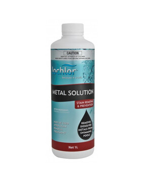 Lo-Chlor Metal Solution/Stain Remover 1L - Metal - Pool Chemical (DG)