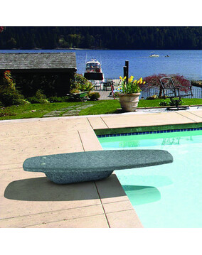 S.R. Smith Mondo Diving Platform/Board (Granite-Grey)