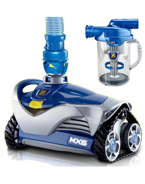 Zodiac MX6 Baracuda Pool Cleaner with Cyclonic Leaf Catcher - Above & In Ground - Wall Climber