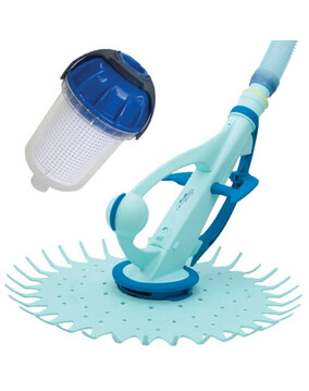 Onga Hammerhead Swimming Pool Cleaner + Onga Leaf Catcher / Canister