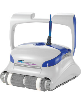 Davey PoolSweepa Optima Plus+ Cordless Robotic Pool Cleaner w/ Remote - Floor, Walls & Waterline + Scrubber