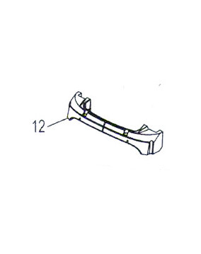 Polaris 9300 / Zodiac V3 Front Float - Pool Cleaner Spare Part