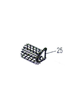 Polaris 9300 / Zodiac V3 4WD Brush Separator W1875A - Pool Cleaner Spare Part