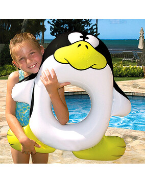 Poolmaster Penguin Tube / Ring / Toy - Swimming Pool Float
