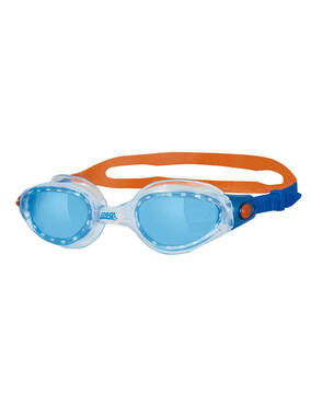 Zoggs Phantom Elite Blue/Orange  Goggles for Adults