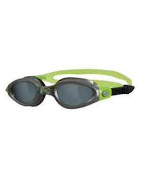 Zoggs Phantom Elite Grey /Green Goggles for Adults