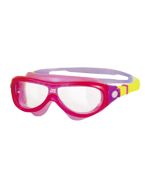 Zoggs Phantom Kids Mask Pink Goggles Suitable for Ages 2-8 Yrs