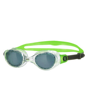 Zoggs Phantom Junior Goggles Suitable for Ages 6-14 Yrs (green/grey)