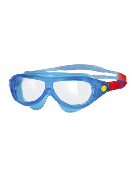 Zoggs Phantom Kids Mask Blue Goggles Suitable for Ages 0-6 Yrs