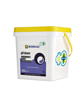 Zodiac pH Down Twist & Dose 3kg - BUCKET Pool Chemical